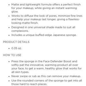 Sephora Makeup - NIB Mally Evercolor Poreless Face Defender Boost